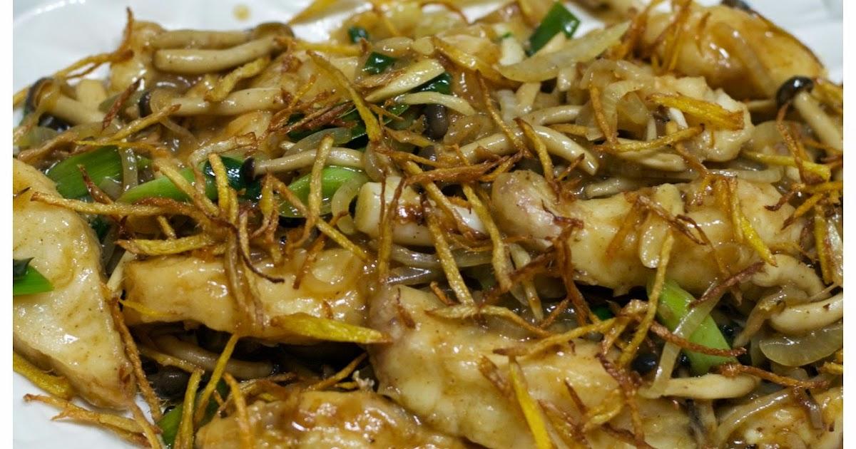 Indonesian medan food tumis ikan jahe ginger fish stir for Ada s fish fry