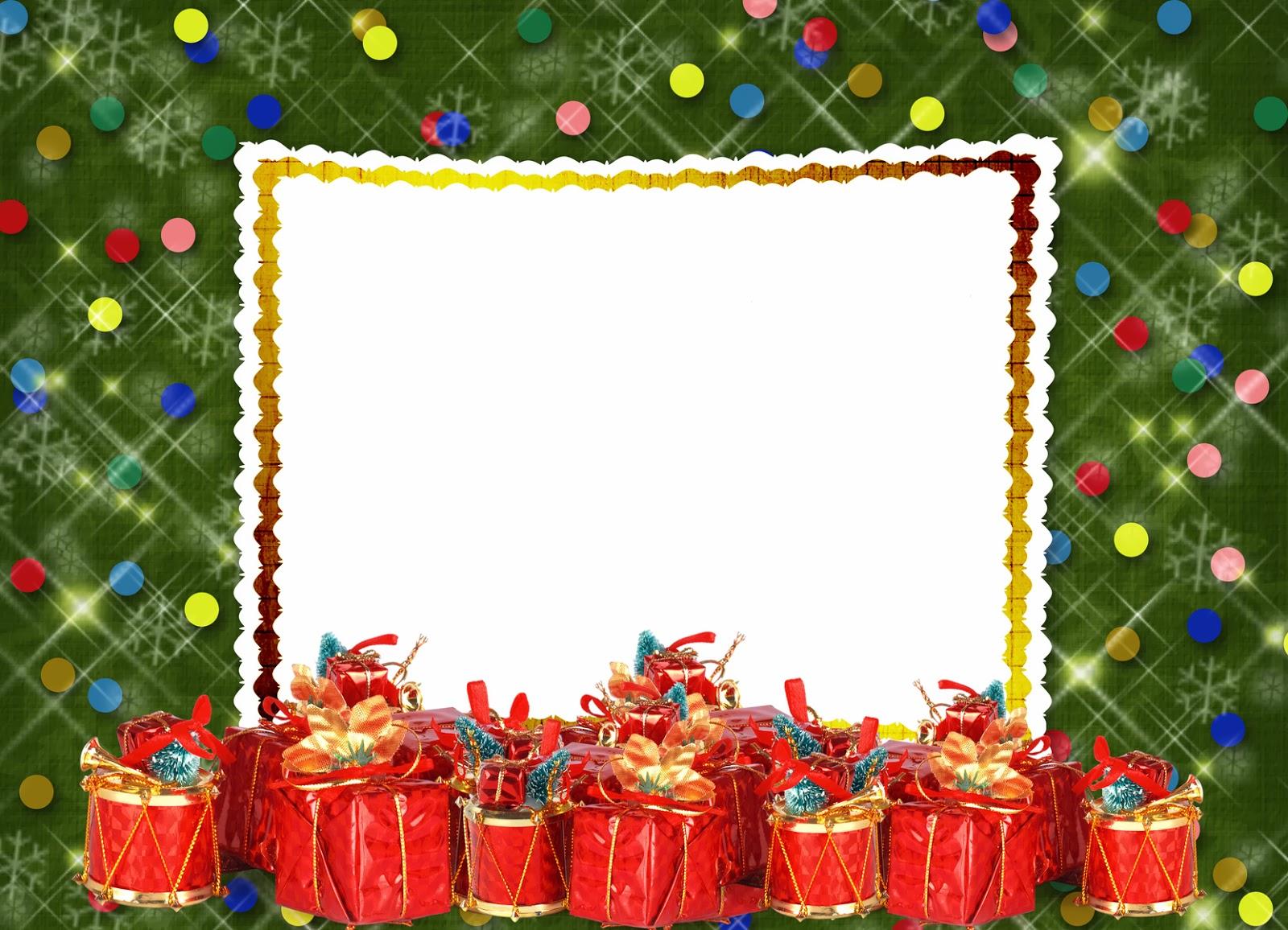 Postales de navidad para poner tu foto