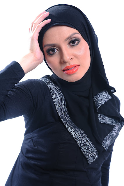 Adibah Karimah photoshoot by photographer Hafiz Atan at shah alam
