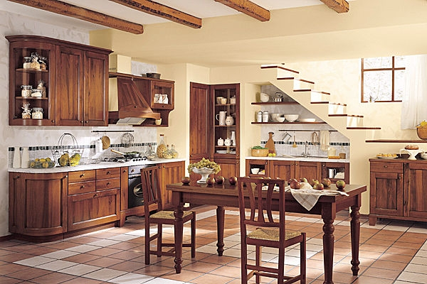 decoracion de interiores cocinas rusticas:Muebles y Decoración de Interiores: Cocinas Rústicas Francesas