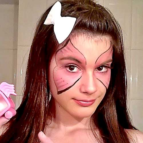 maquillaje mariposa carnaval monika sanchez guapa al instante