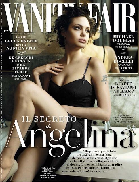 Actress @ Angelina Jolie - Vanity Fair Italy, June 2015