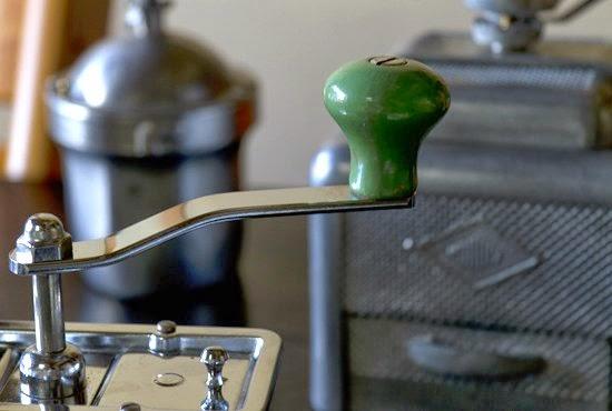 アンティークコーヒーミルのハンドル