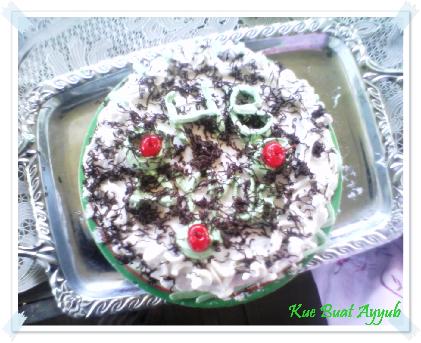 Kue Buatan Tangan.Ku.. :) Just For You