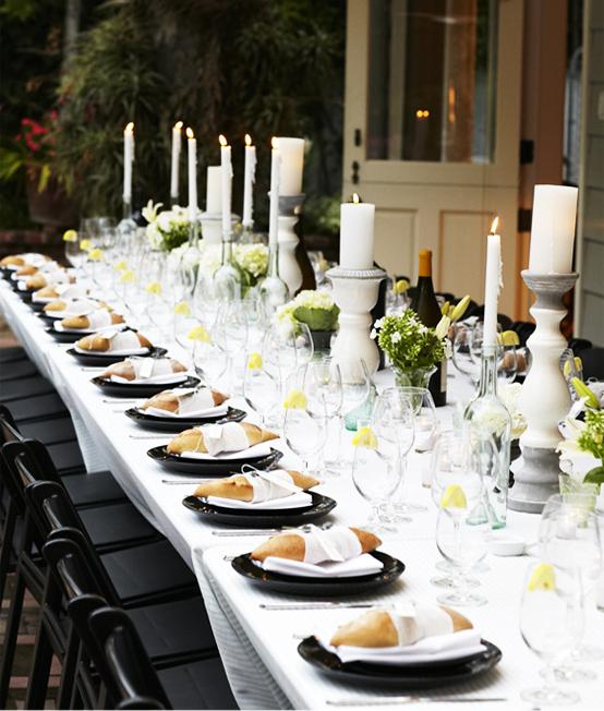 Ideas para la mesa platos del pan fuera - Decoracion de platos ...