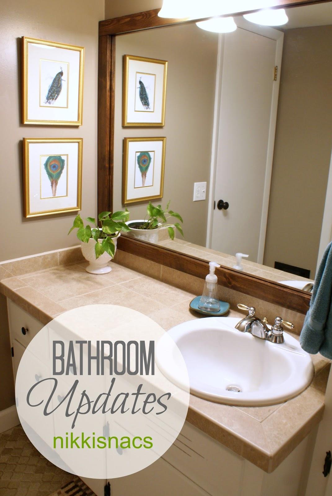 Combathroom Updates : Bathroom Updates