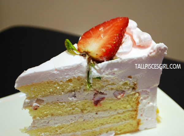 Strawberry Mille Sponge