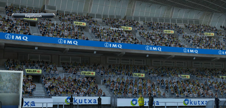PES 2013 Anoeta & San Mams Stadium Boards by Txak