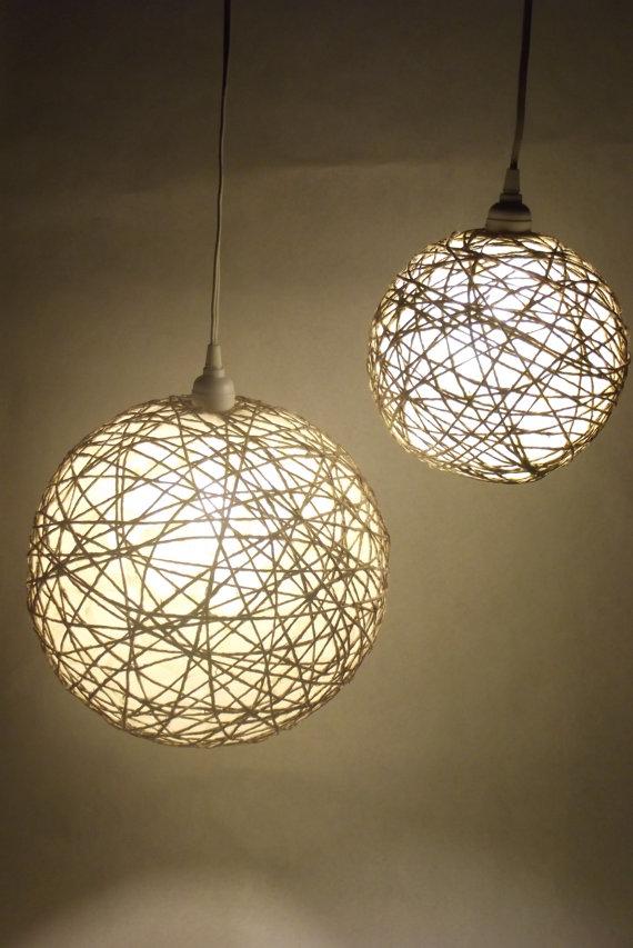 Cheloca lamparas - Lamparas de techo hechas en casa ...