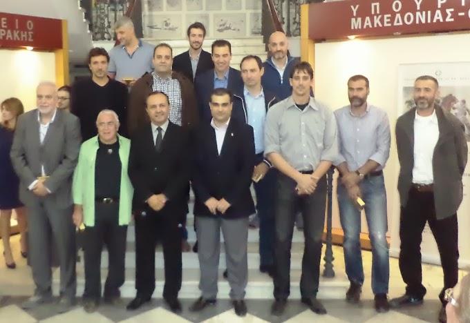 Τιμήθηκαν αθλητές και μέλη του ΔΣ του Συνδέσμου Βετεράνων Θεσσαλονίκης από τον Υπουργό Μακεδονίας Θράκης-Οι πρώτες φωτογραφίες