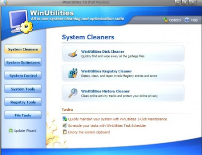 WinUtilities Professional Edition 10.01