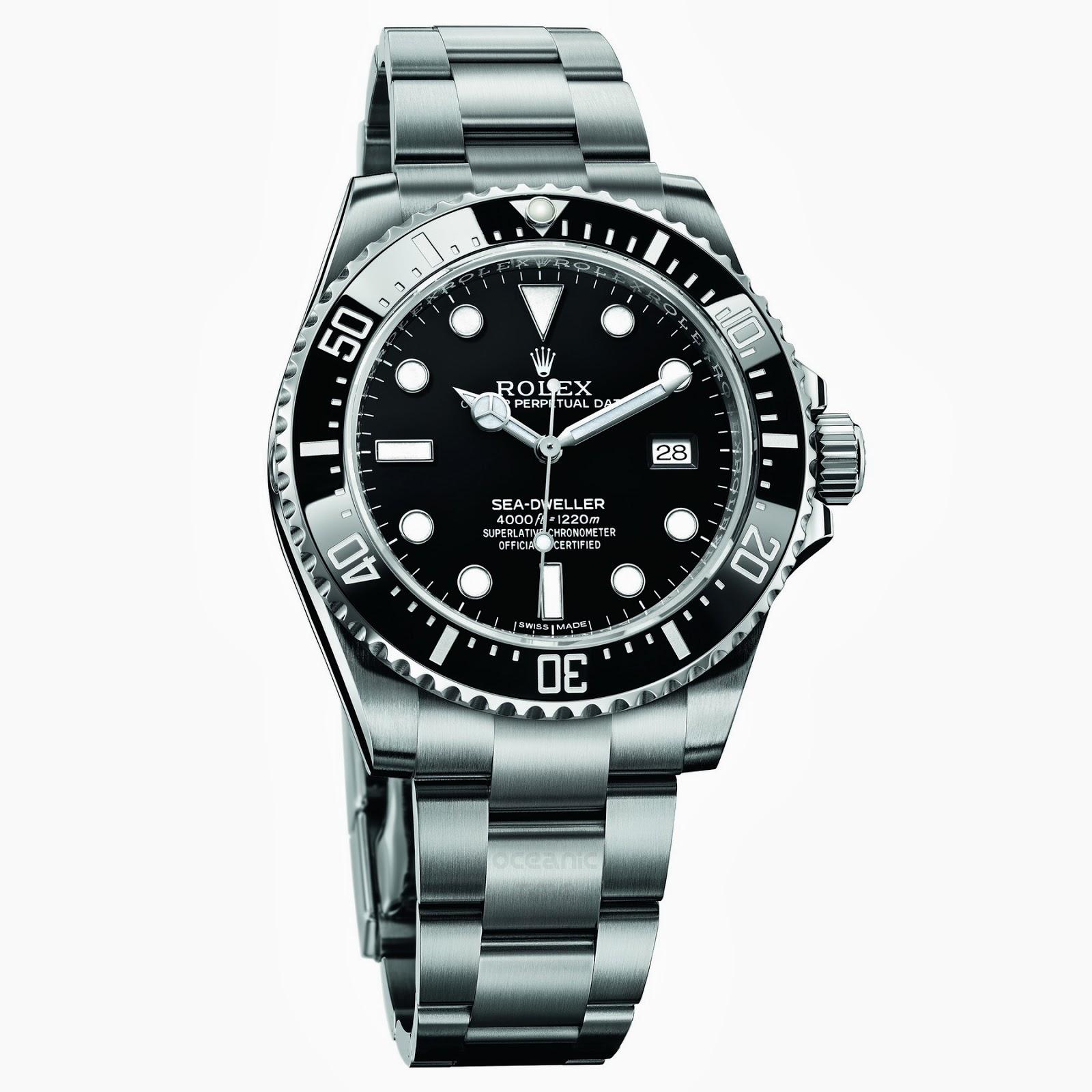 Oceanictime rolex sea dweller 4000 new for Rolex sea wweller