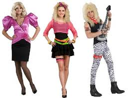 80s Fashion For Women Punk Valley Girl or Punk Rock was