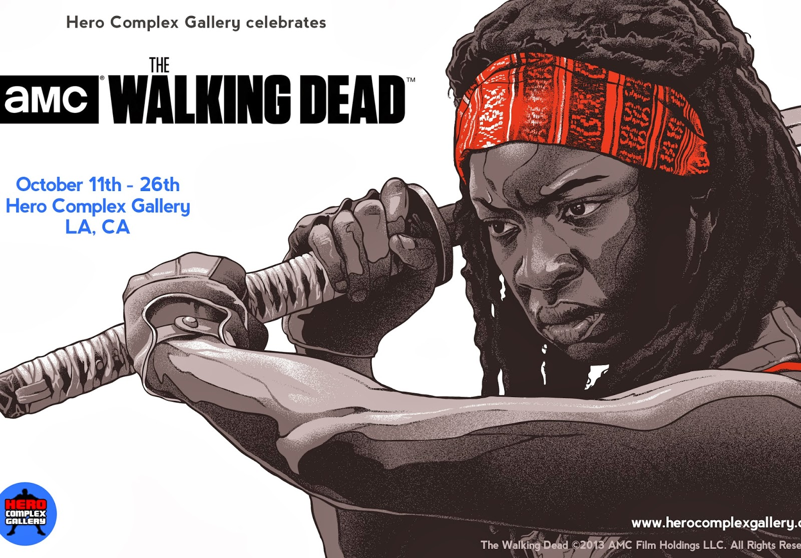 HCG Celebrates AMC's The Walking Dead - Zombie of the Week