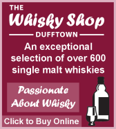 Whisky Shop Dufftown