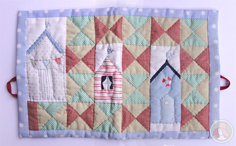 Porta-documentos para bebé de patchwork