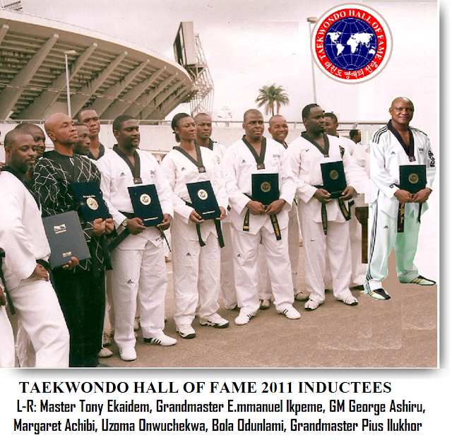 TAEKWONDO HALL OF FAME AWARD, SEOUL, SOUTH KOREA 2011