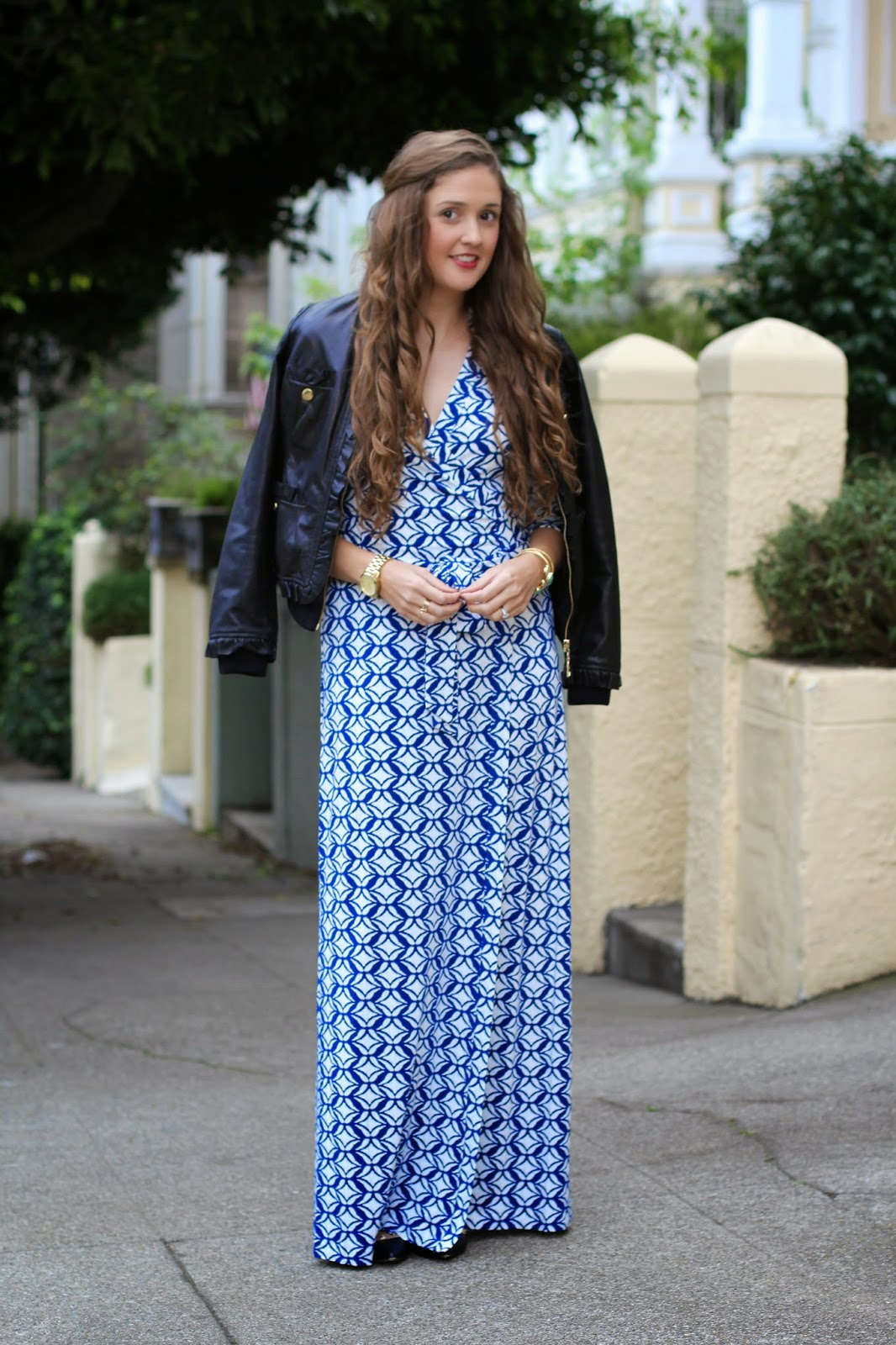 Dvf Maxi Dress Sale That dress is the Abigail Maxi