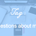 TAG : 21 questions about movies