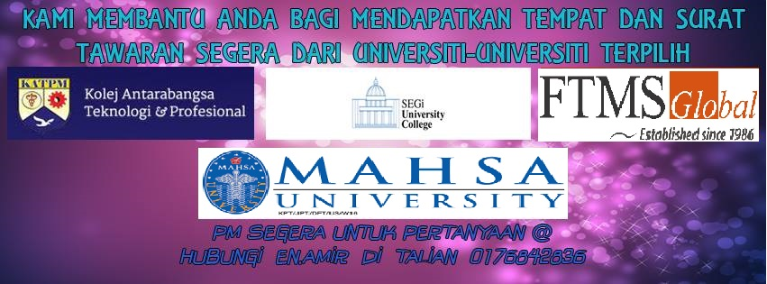MALAYSIA SIGNIFICANT UNIVERSITIES
