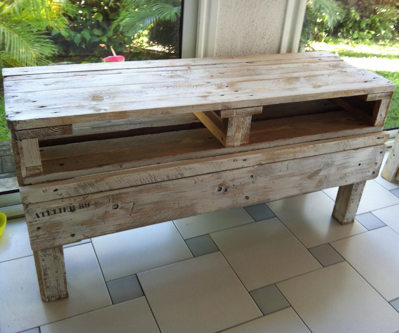 Construire meuble tv palette solutions pour la - Construire un meuble ...