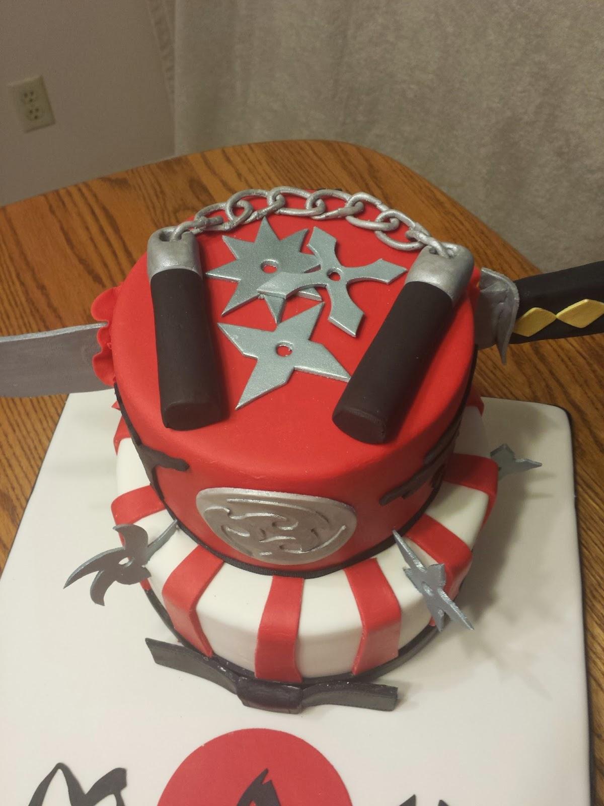 Js Cakes Ninja Birthday Cake