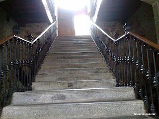 Escalera de honor del ayuntamiento de Candelario Salamanca