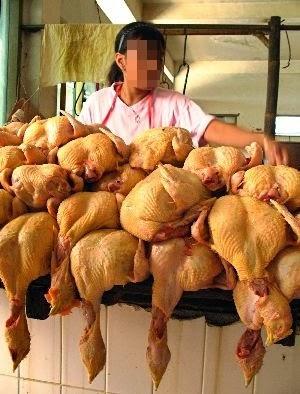 Biadap! Peniaga Celup Daging Ayam?!