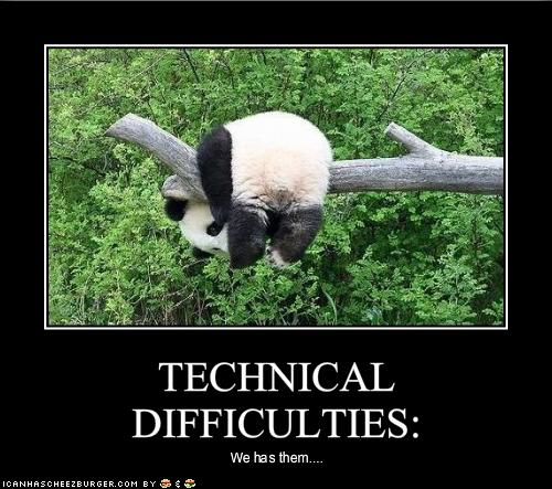 Diary of 1 Mean Mama: Technical Difficulties?