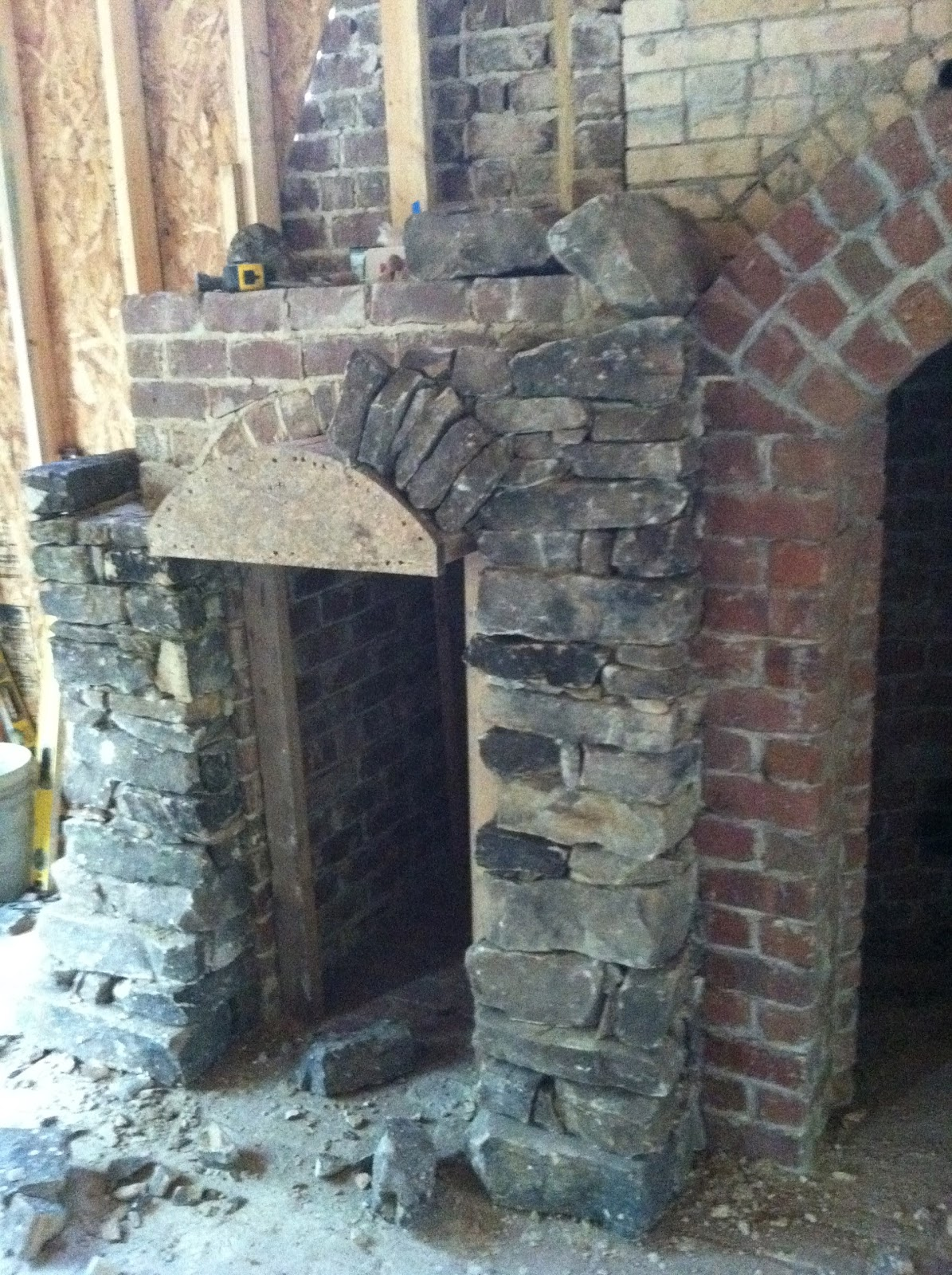 chapman architecture the daulton house betts fireplace and