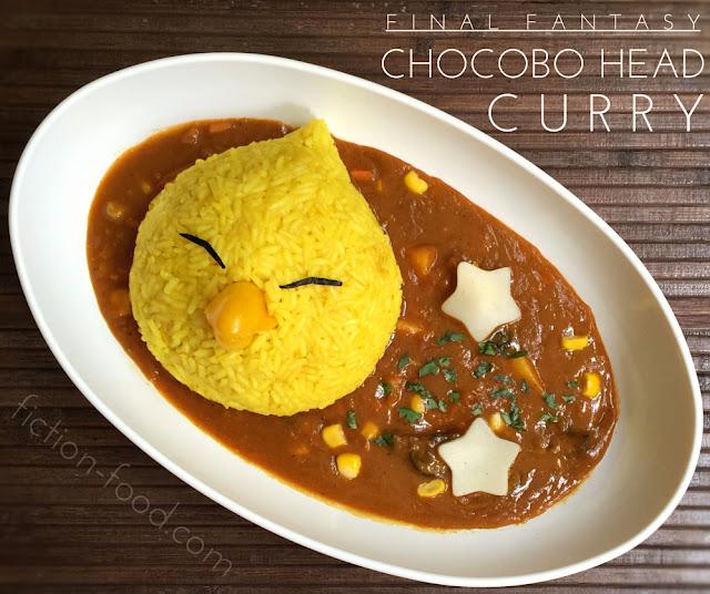 "Fiction-Food Café: Chocobo Curry | ""Final Fantasy"""