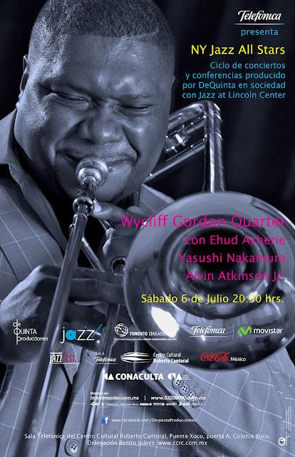 El ciclo New York Jazz All Stars presenta a Wycliffe Gordon en concierto