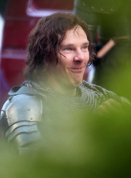 Benedict Cumberbatch in The Hollow Crown: The Wars Of The Roses