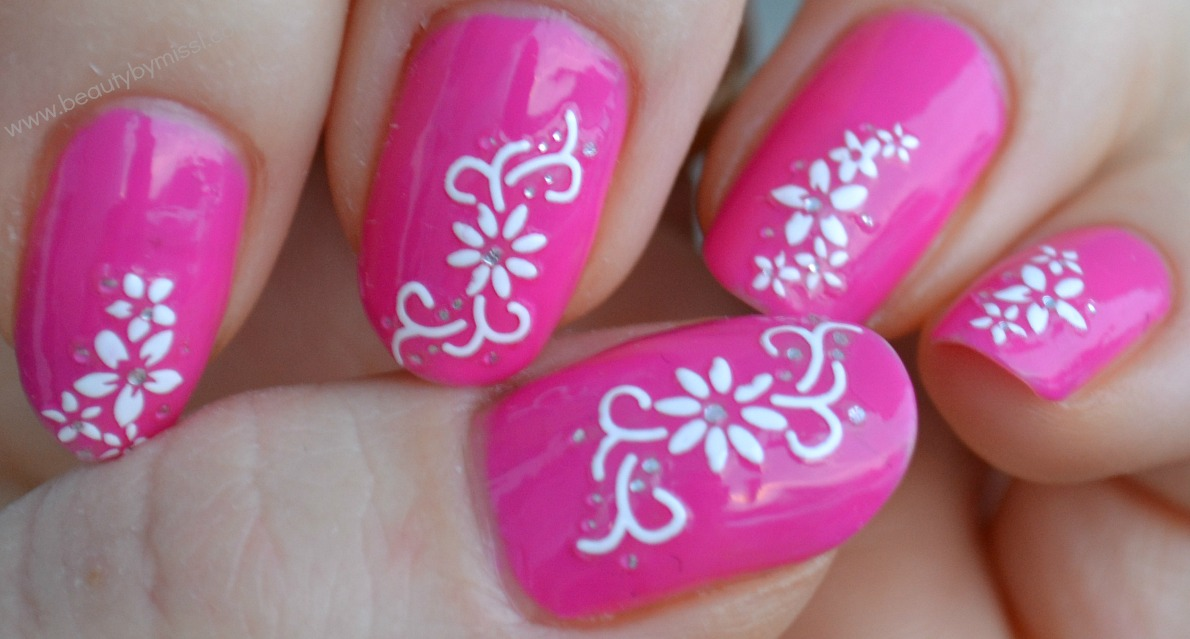 nail art stickers, ebay, L´Oreal Color Riche Sassy Pink