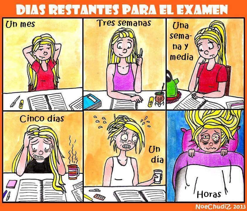 Vida de estudiante (Humor escolar)