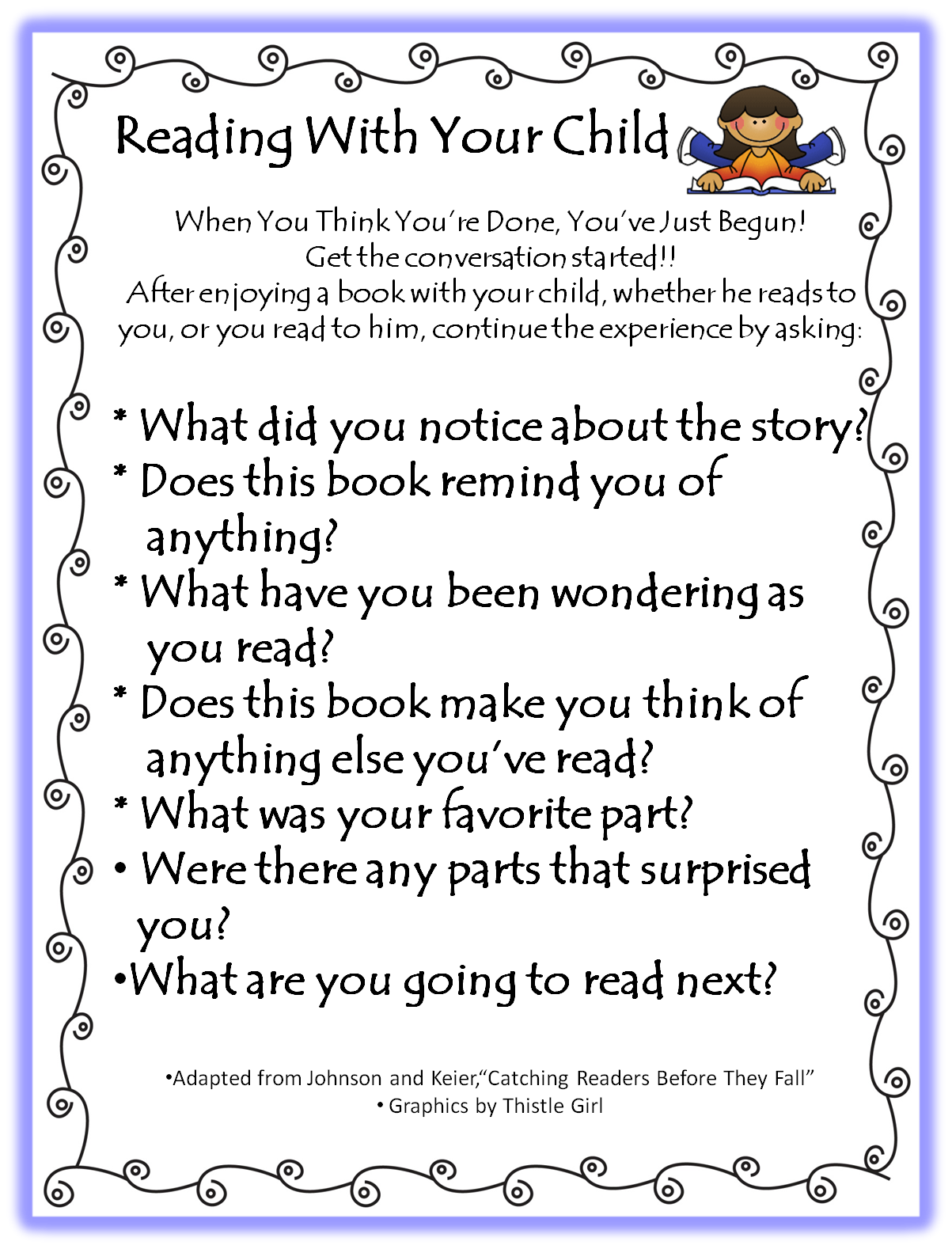 how to help your child with reading comprehension