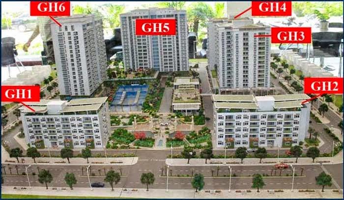 Quy mô dự án Green House Việt Hưng