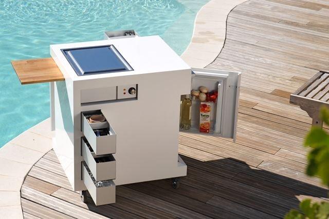 Move kitchen compact mobile outdoor kitchen design - Design outdoor mobel ...