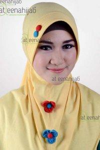 Saqina Kayla Yasmin - Kuning (Toko Jilbab dan Busana Muslimah Terbaru)