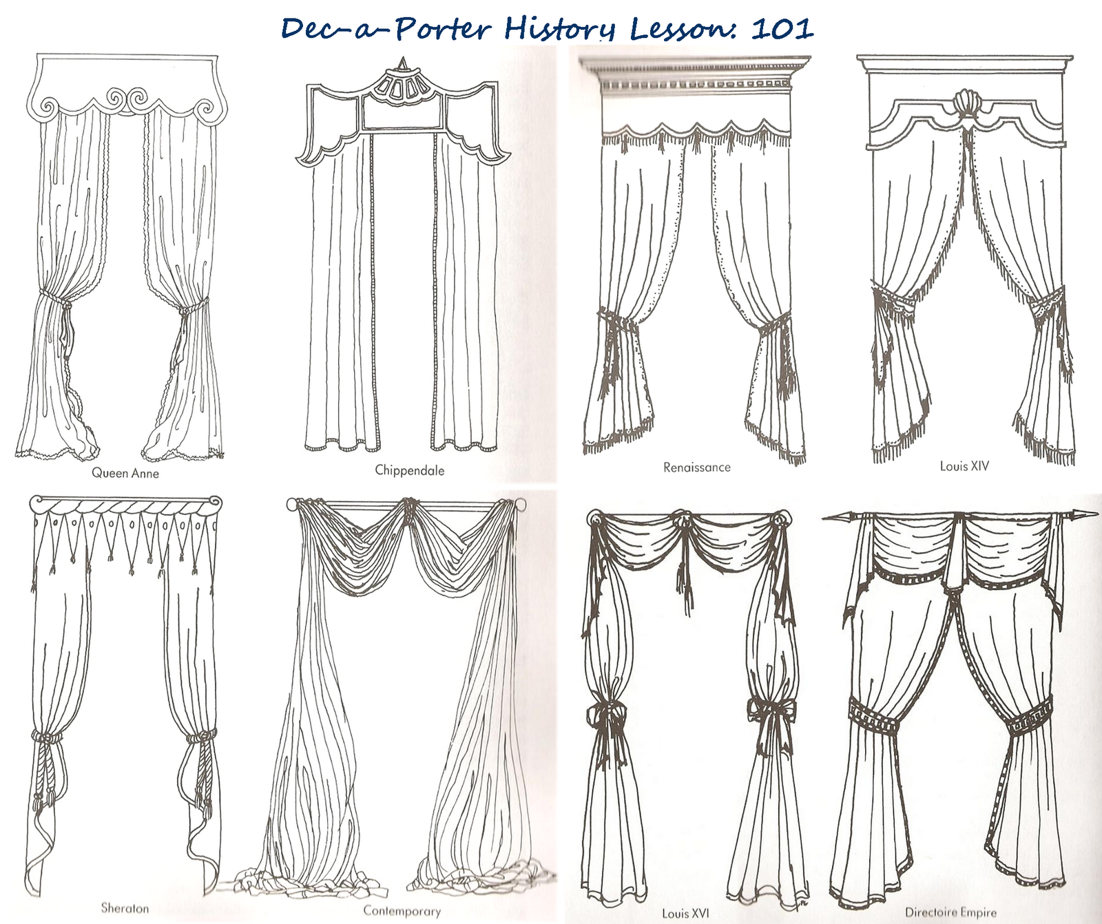 curtain drawing coloring pages