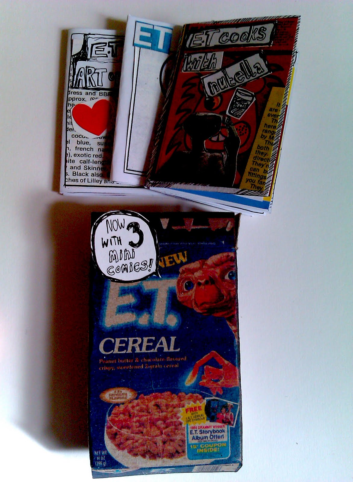 of the killer E T cereal  E.t. Cereal