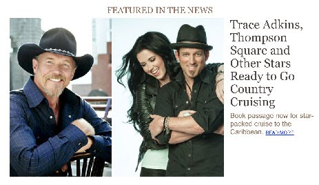 Country Weekly Trace Adkins, Thompson Square and other stars