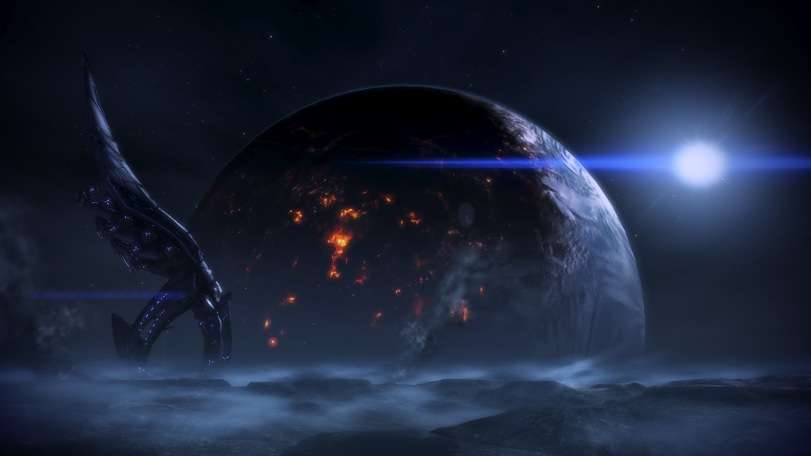 List Nation Wallpapers: 19 Mass Effect Wallpapers