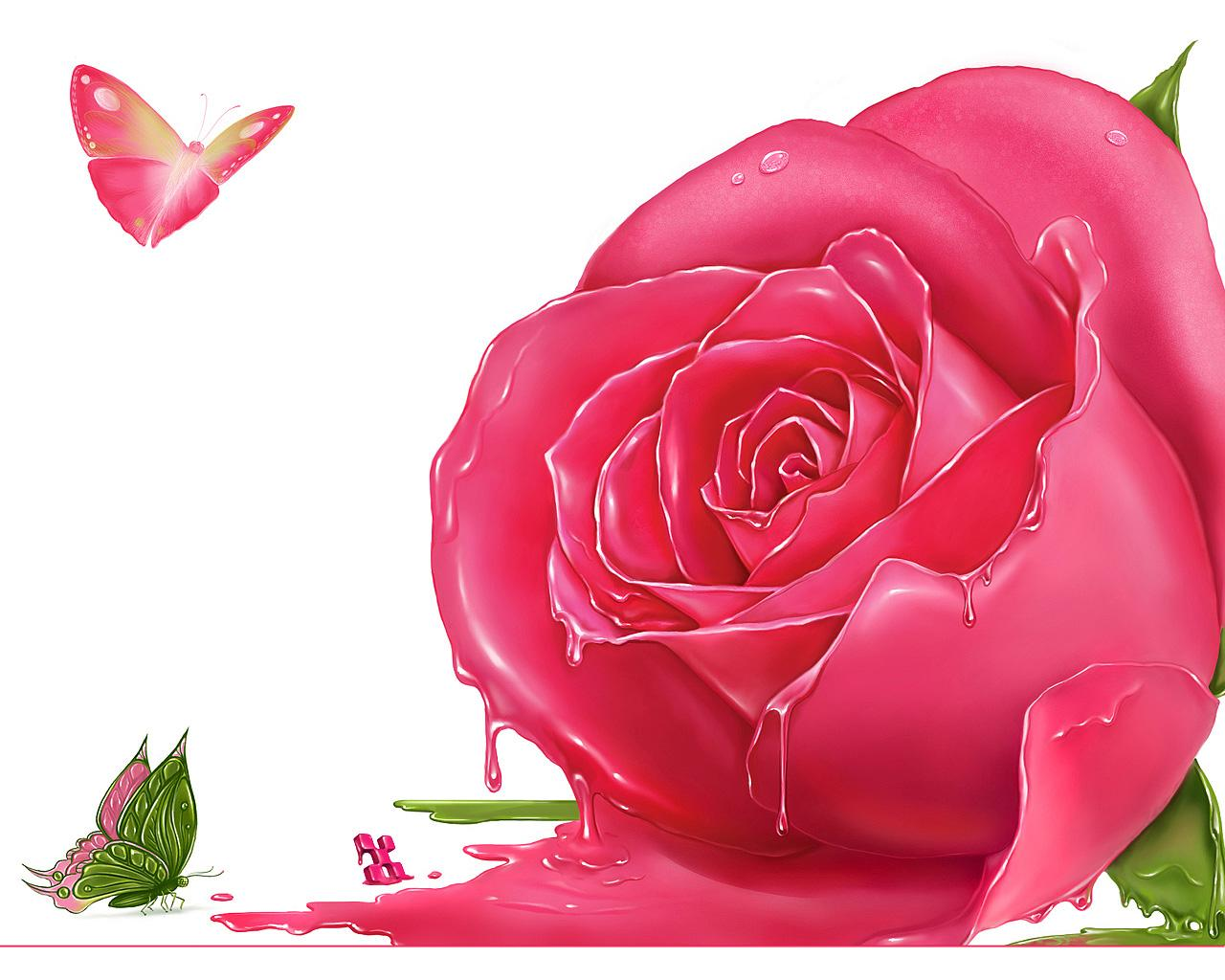 ��� ���� �������� 2013, ���� ����� , ������ ��� 2013 pink20rose_wallpaper