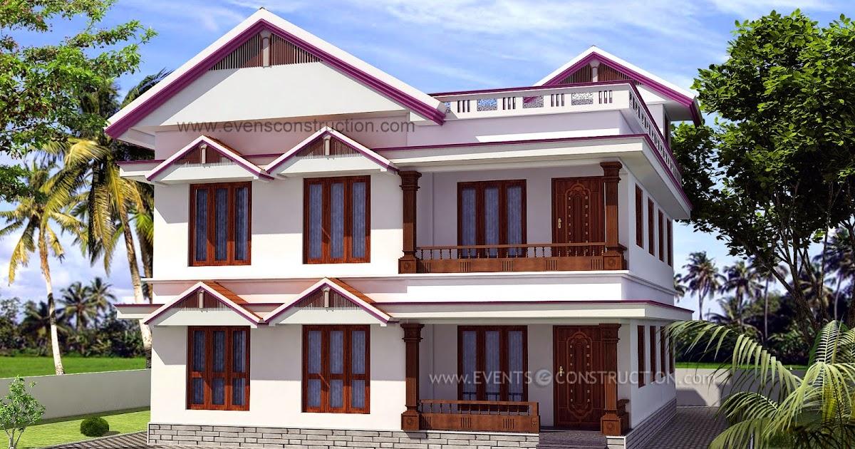 Evens construction pvt ltd modern beautiful home design for Modern design building services ltd