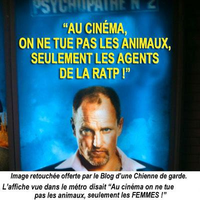 Humour De Dogue Affiche Du Film 7 Psychopathes Et Banalisation De