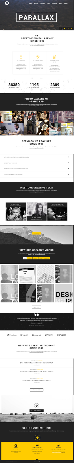 Creative WP theme