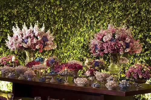 Eventos Cores para decoração de casamento em 2012 as tendências