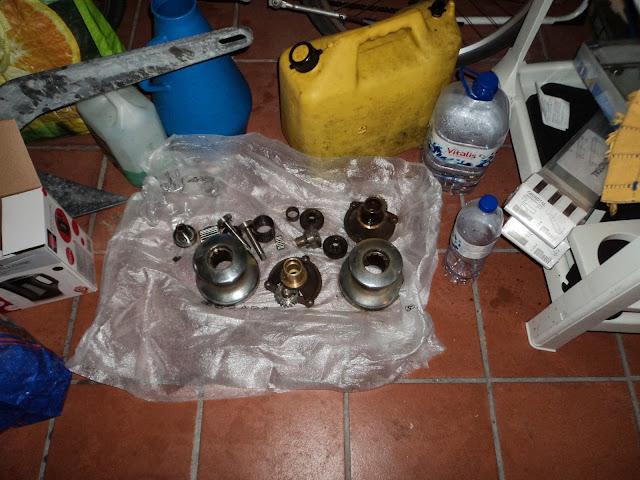 Barlow winch repairs