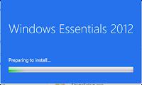Windows Essentials 2012 - Preparação da instalação